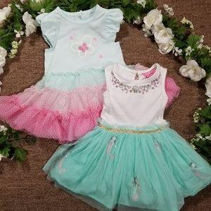 Other - 12-18m Summer tutu butterfly/mermaid dress bundle